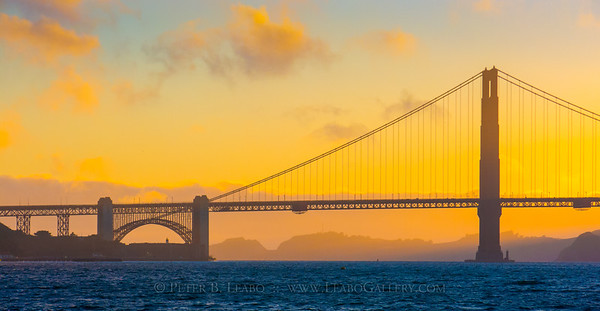 Golden Gate Sunset Haze