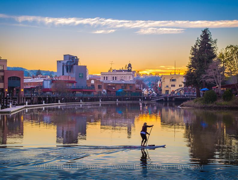 Petaluma River Sunset