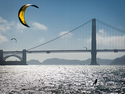 San Francisco Bay Kite Surfing