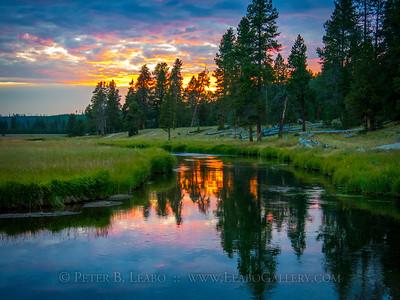 Gibbon River Sunset