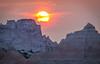 Sunrise in the Badlands