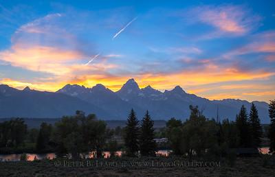 Tetons Sunset