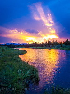 Madison River Sunset