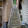 Just a few stairs to get home