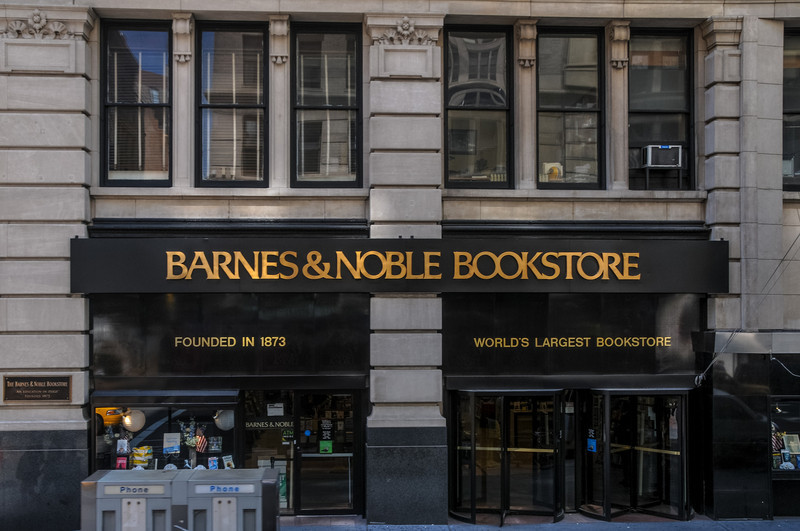 First Barnes & Noble Bookstore.
