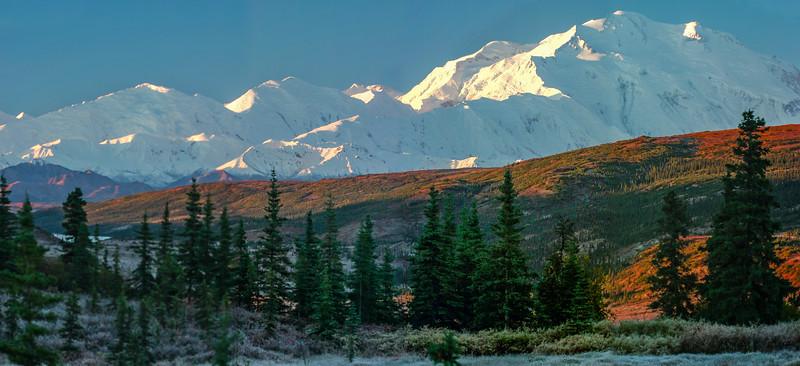 Morning at Mt Denali