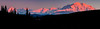 Sunset Alpine Glow on Mt Denali