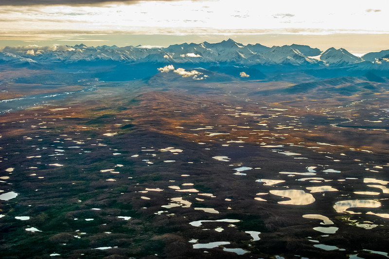 Kettle Ponds from Denali Flightsee