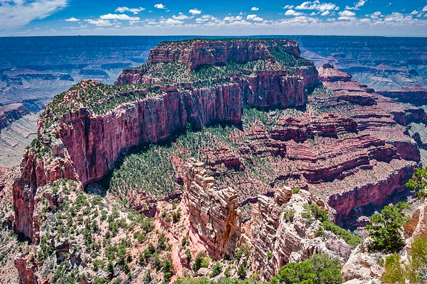 Oza Butte in Grand Canyon National Park