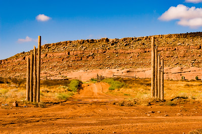 Going to the ranch in Monument Valley