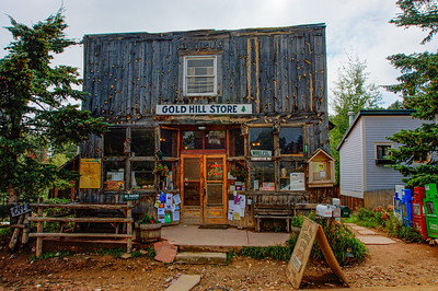 The world renowned Gold Hill Store in Gold Hill, Colorado