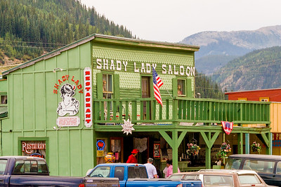 The reward at the Shady Lady Saloon in Silverton