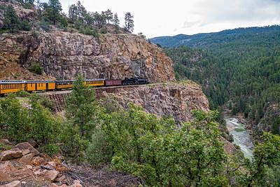 Durango-Silverton Rail Road . . . incredible engineering!