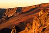 Dawn Glow on Barren Haleakala Crater