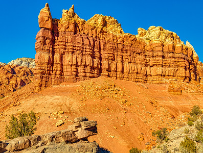 New Mexico Multi-layered Rock Formation