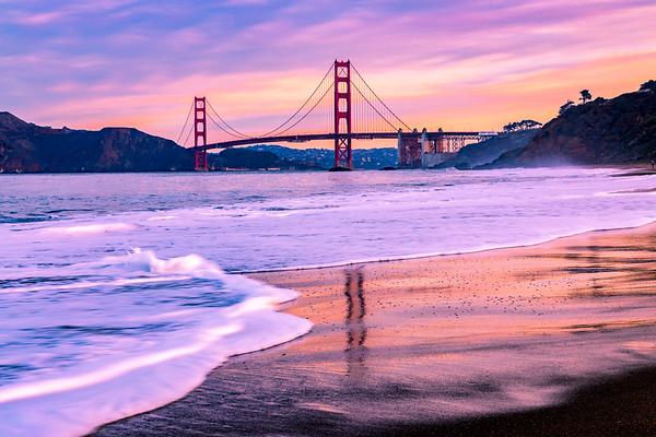 Baker Beach Sunrise