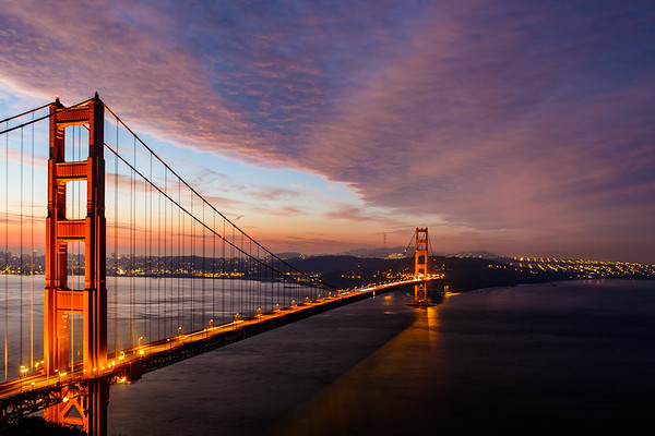 Golden Gate Bridge from Battery Spencer