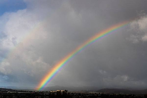 Rainbow over San Francisco Bay