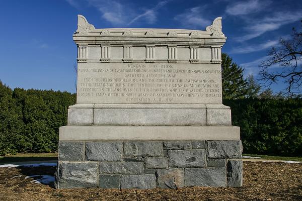 Civil War Unknown Solider Monument