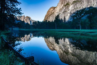 Flooded Yosemite Valley