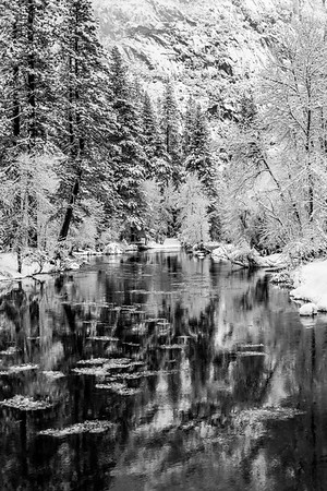 Frazil Ice in the Merced River