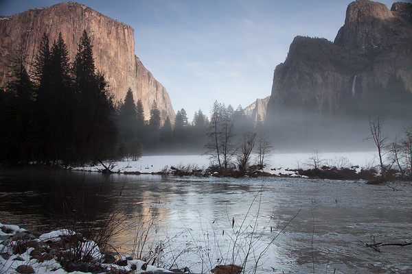 Spring Morning in Yosemite National Park