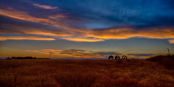 Sunset 3 Sheds (1 of 1)