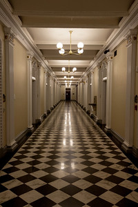 Executive Office Hallway