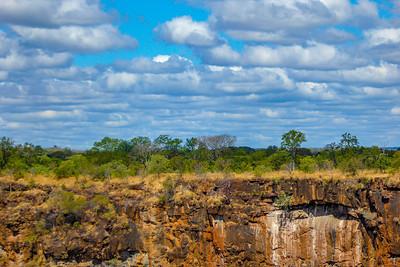 Escarpment  over the Zambezi