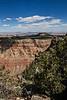 D088-2008  Canyon rim<br /> <br /> Desert View, Grand Canyon National Park, AZ<br /> (south rim, near East Entrance)<br /> March 29, 2008<br /> edited 2015