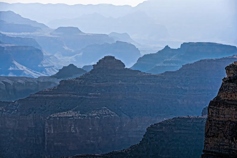 Looking eastward from near Hopi Point