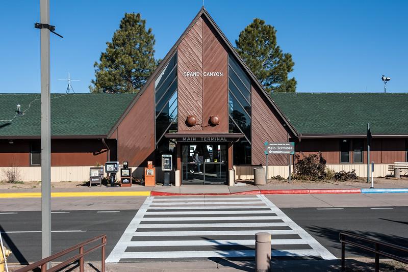 Terminal building, Grand Canyon National Park Airport