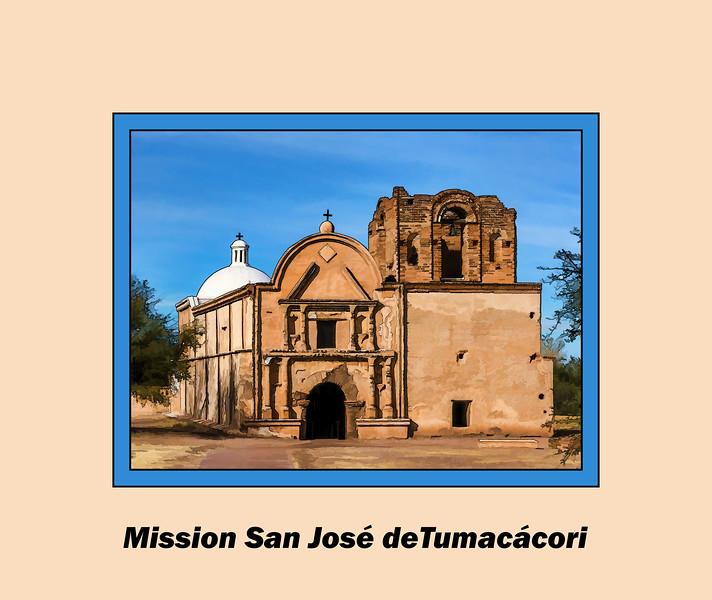 Mission San José de Tumacácori - gallery intro shot