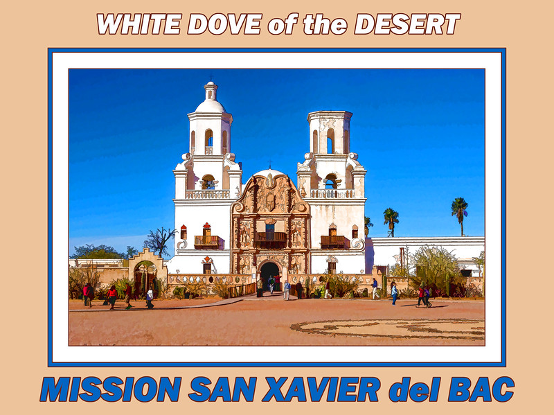 Gallery label image - Mission San Xavier del Bac