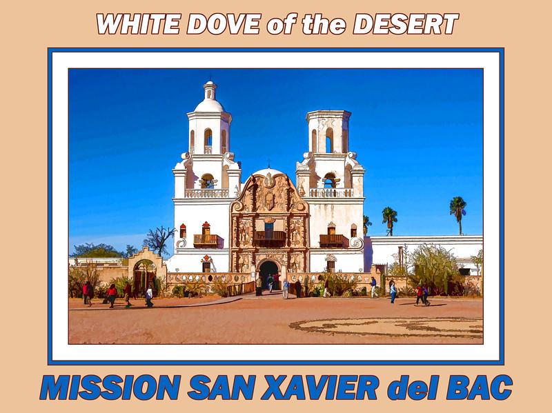 Gallery label image - Mission San Xavier del Bac