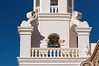 Detail, west bell tower, Mission San Xavier del Bac