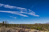 Contrails being converted into clouds, Tucson