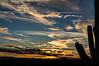 Tucson sunset near the winter solstice (original 6x4 AR)