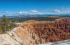 Panoramic view from Inspiration Point, Bryce Canyon NP
