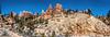 Panorama, Trailhead for Mossy Cave Trail, Utah