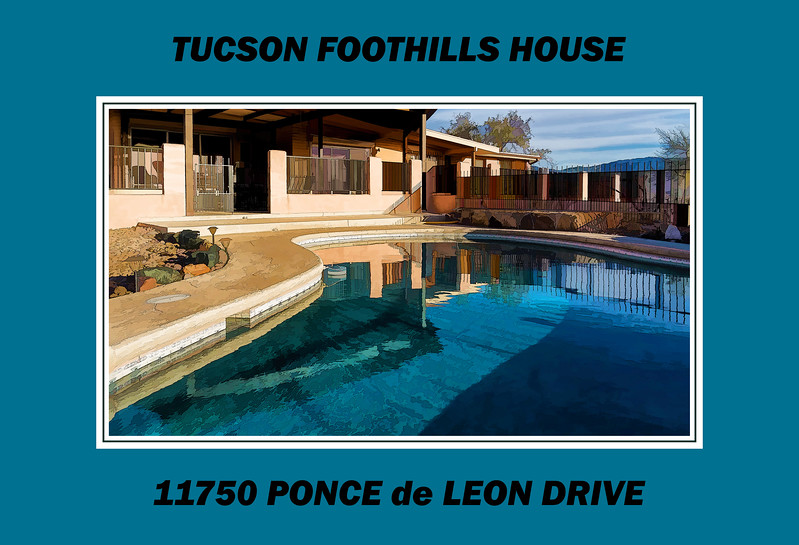 Gallery label image - Tucson AZ Foothills House