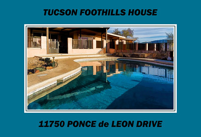 Tucson AZ Foothills House, Views, Environs