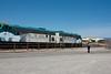 EMD FP7 locomotives, hauling the Verde Canyon RR train