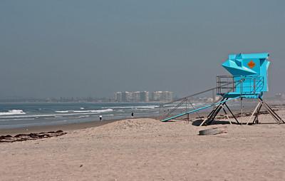 Coronado, California - a morning at the beach
