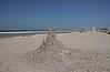 Sand castle, Silver Strand State Beach, Coronado Island.<br /> <br /> Near San Diego, CA