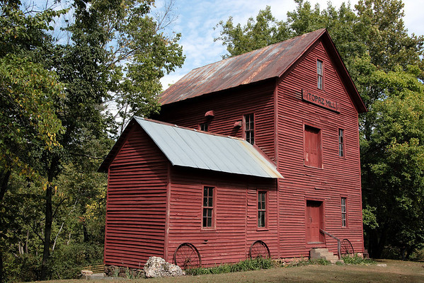 Topaz Mill and Spring, Missouri