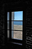 Tower window.  Cape Blanco Lighthouse, Oregon.