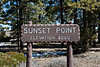 Sunset Point (elevation 8000 feet)<br /> Bryce Canyon National Park
