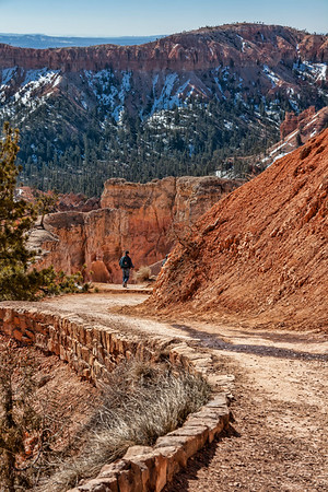 The trail to Queen's Garden, Bryce Canyon NP