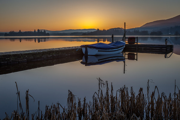 Lake of Menteith and the Boat to The Priory - 8829